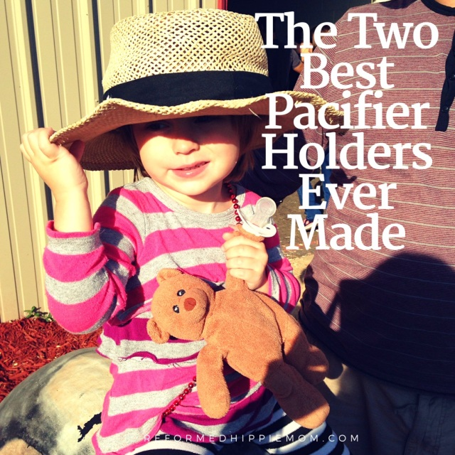 moms review best baby pacifier holders